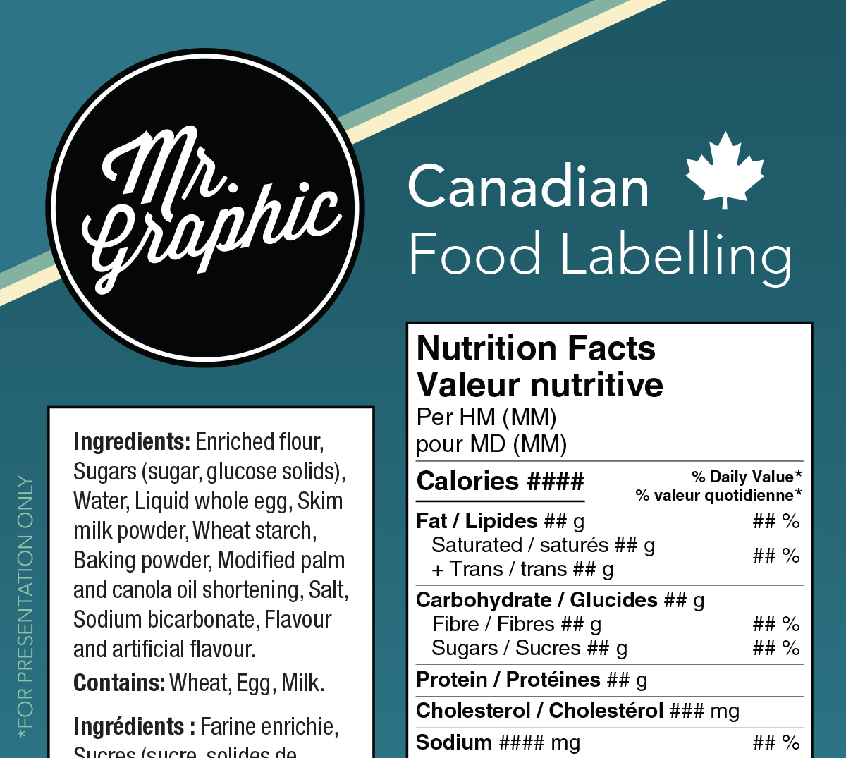 Canadian Food Labelling – Update